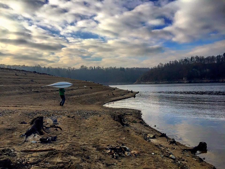 první nedočkavec kráčí k vodě (JVD) s Nordkappem