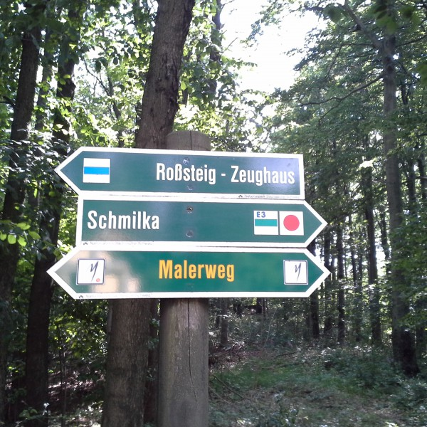 "If I were to translate ""Malerweg"" to Czech, it would be ""troubleway"" and that's where we were heading :)"