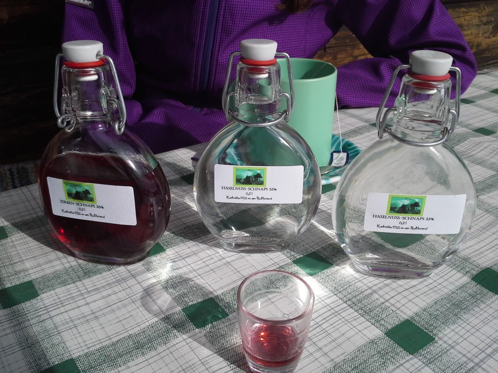A very fair reward of the finest local schnapps