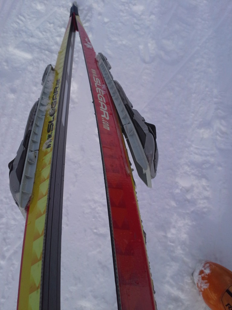 Of course, I had to break a ski (I blame the ski for that, not myself:)