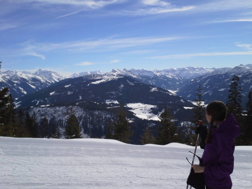 View on Dachstein region
