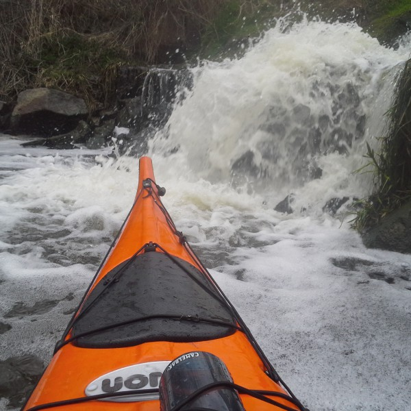 Na Moravě jsou i vodopady :)