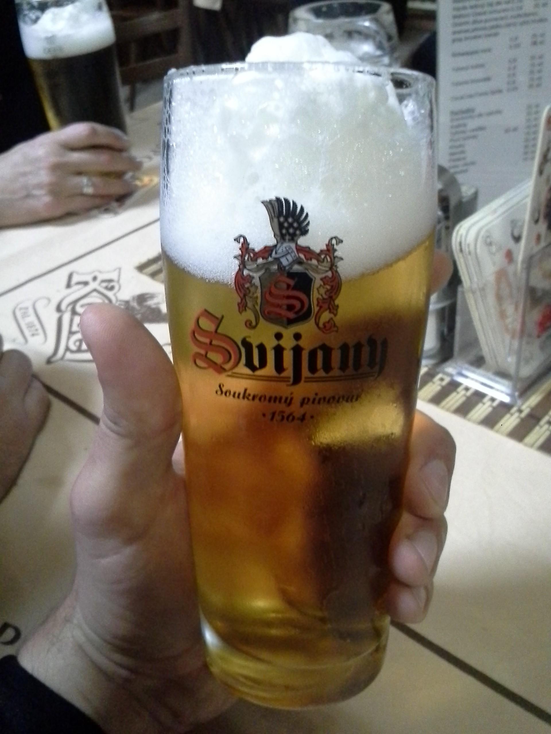 ...a výborné pivo