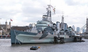 HMS Belfast, built 1938