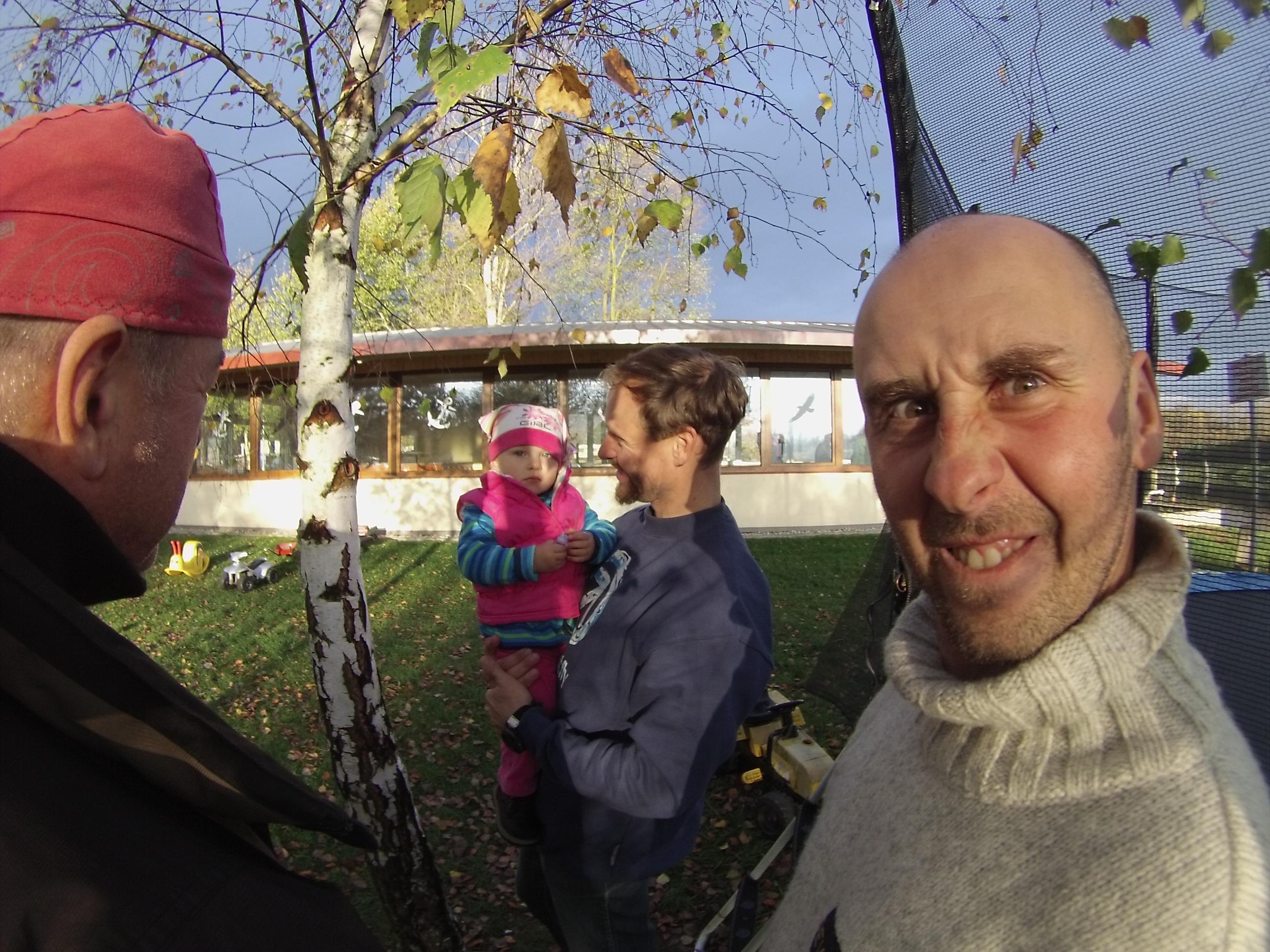 v řadách sea kajakářů se ukázali i nejmladší účastníci:)