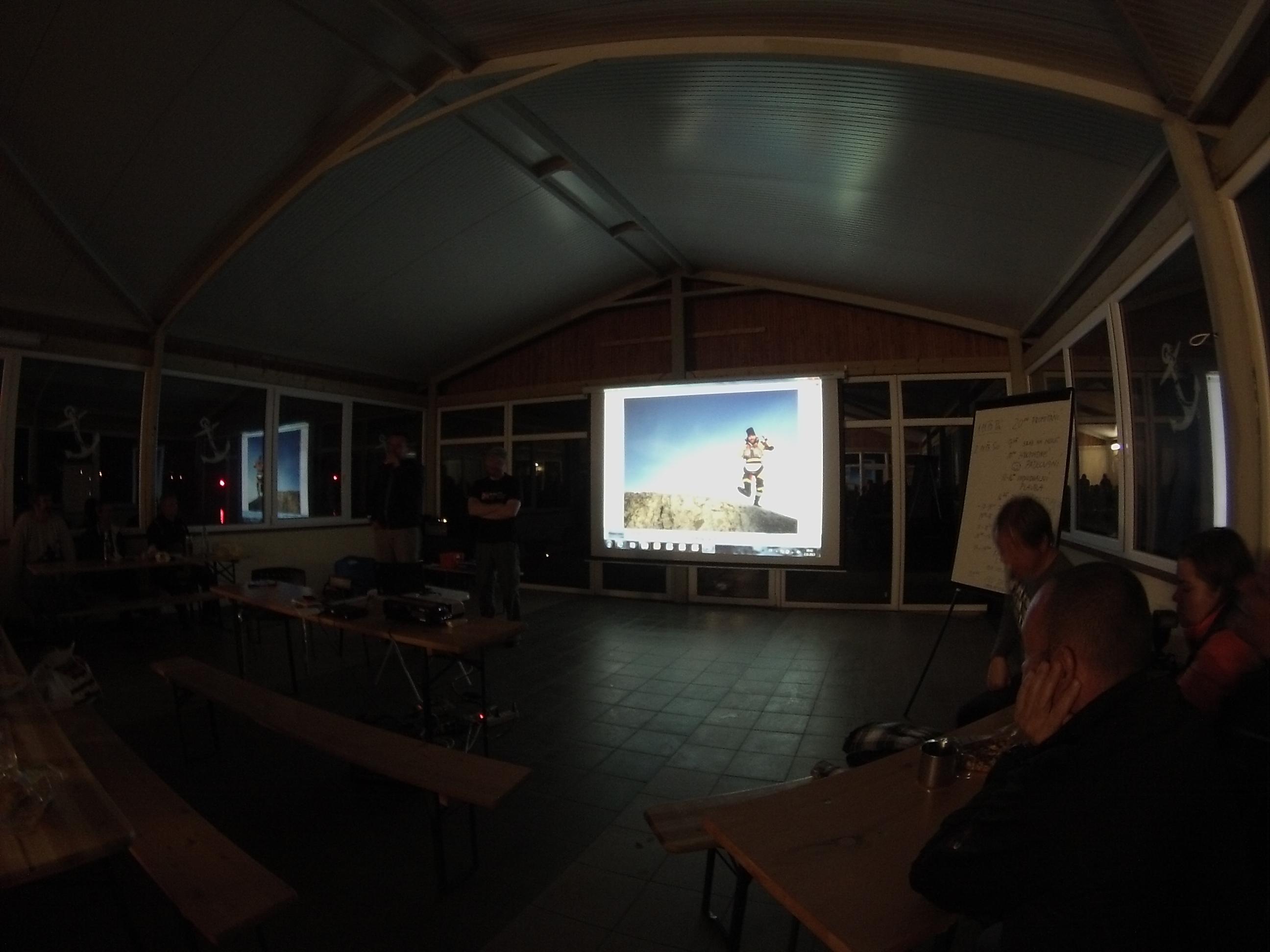 promítání a prezentace cest