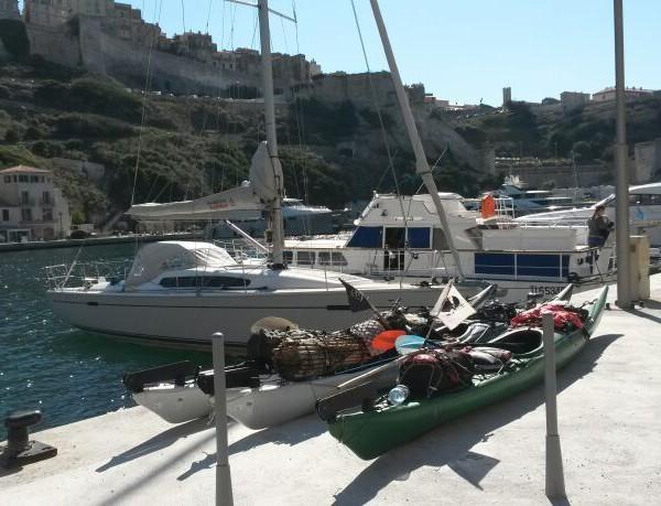 Bonifaccio kayak port