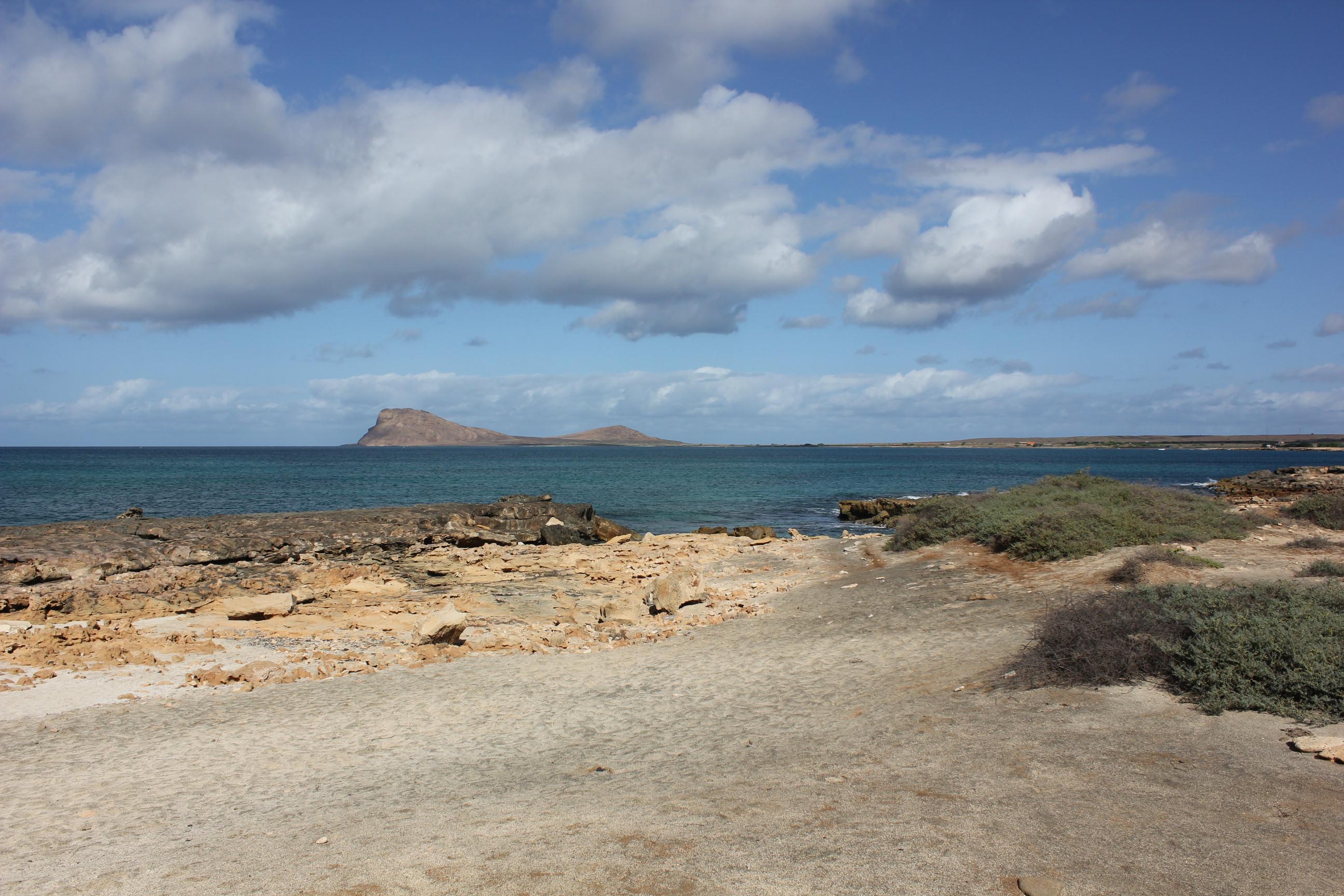 local roads along the coast line