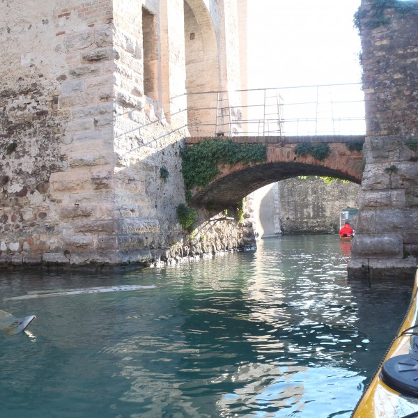 Sirmione is nice to paddle through, small but cosy